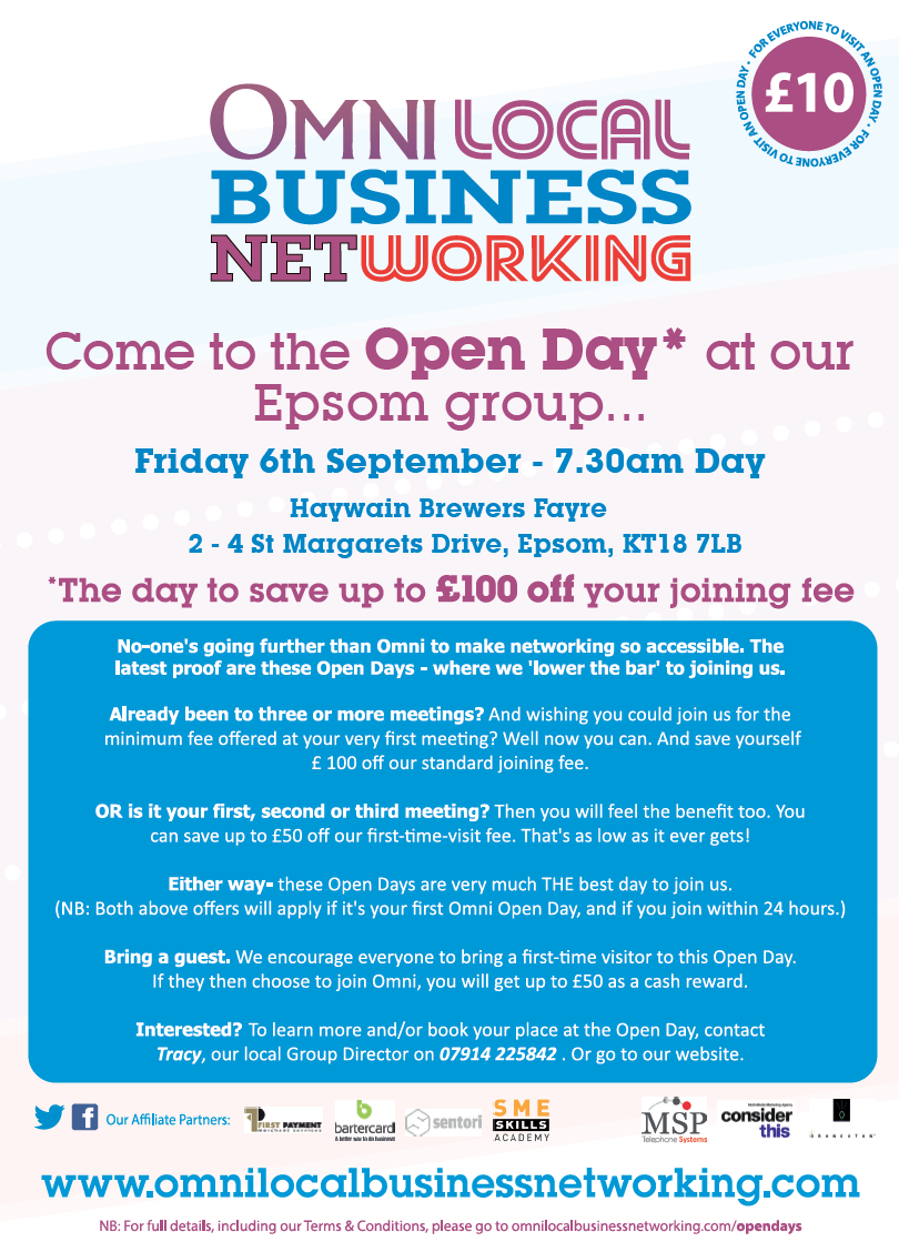 Epsom Open Day