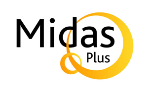 Midas Plus logo